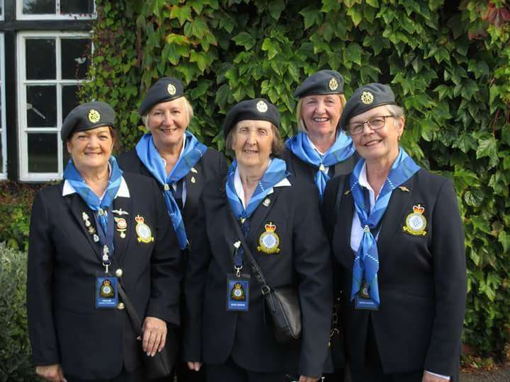 WRAF veterans of RAF Spitalgate Pauline Cantrell-Stephenson, Joan Geeson, Joan Gibson, Evelyn FInn and Moira Byers attended the 100th anniversary celebrations at the Prince William of Gloucester barracks in Grantham. Oe83CBkyV0oiLCCZiYtc