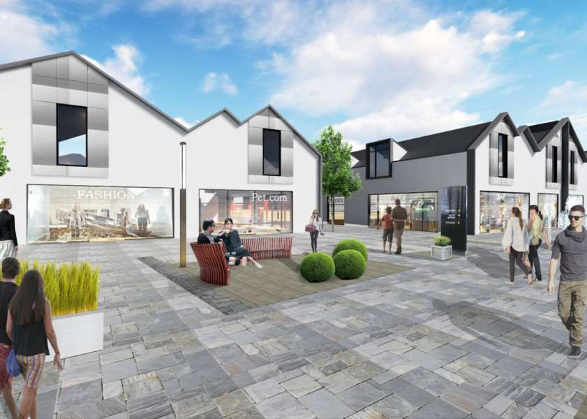 Downtown has submitted plans for its designer outlet village to South Kesteven District Council.