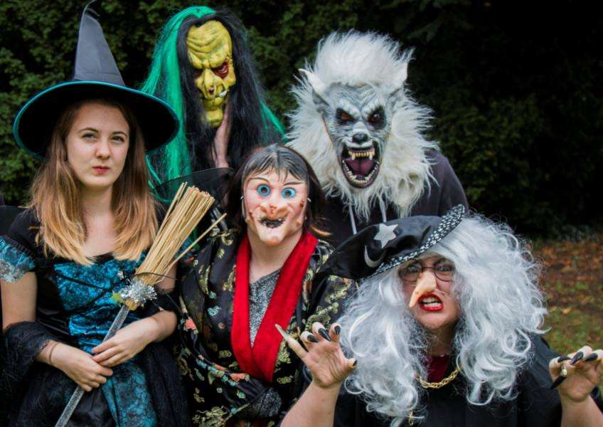 Grantham College students will be made up as scary characters for the Scary Godmother Trick or Treat trail in Wyndham Park, Grantham, on Halloween weekend.