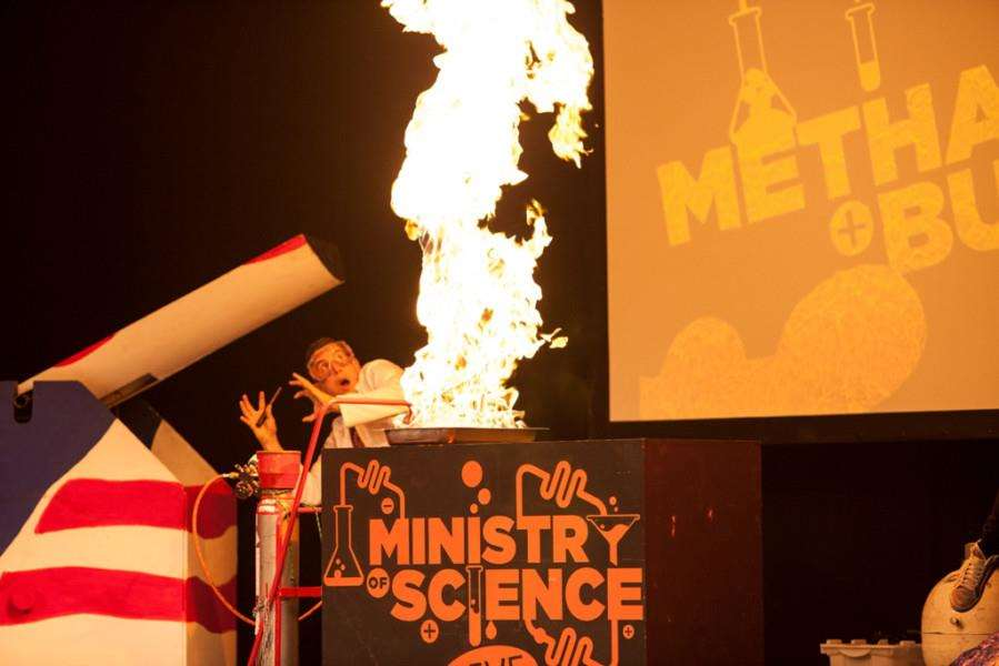 Ministry of Science will be a headline attraction in the festival's education programme. Copyright: Tim Parker. EMN-160314-122605001