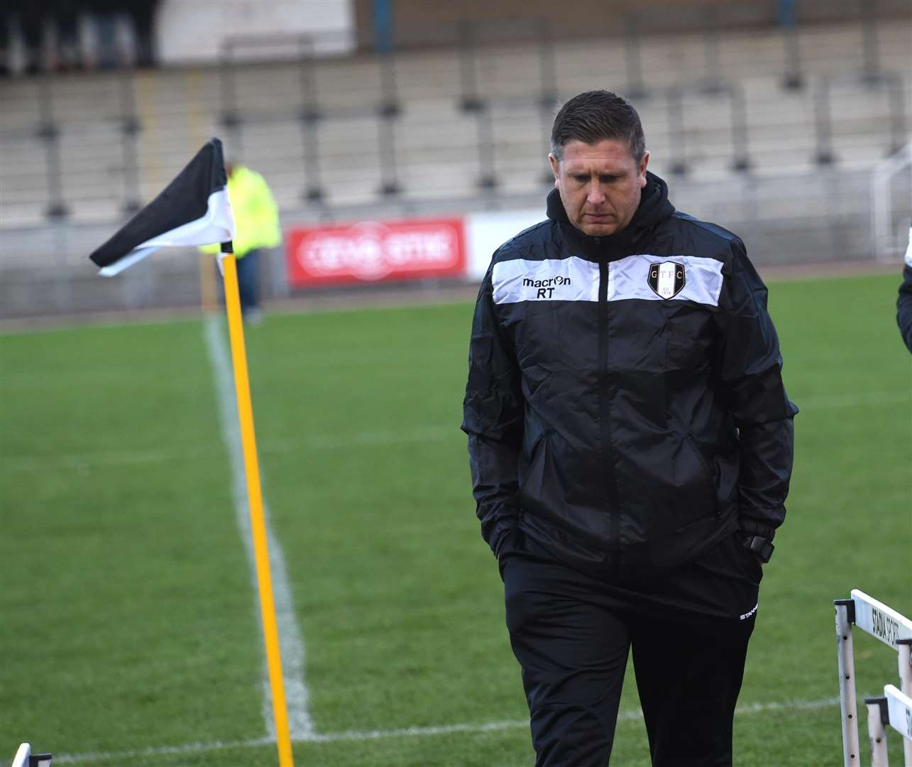 Grantham Town manager Richard Thomas. Photo: Toby Roberts (6924967)