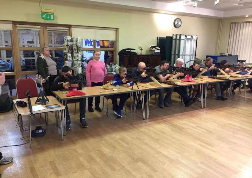 Grantham Target Club has new premises at the Methodist church in Harrowby Lane.