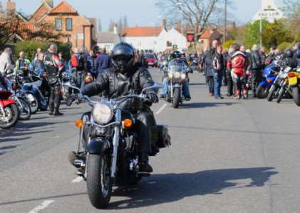 The Easter egg run.