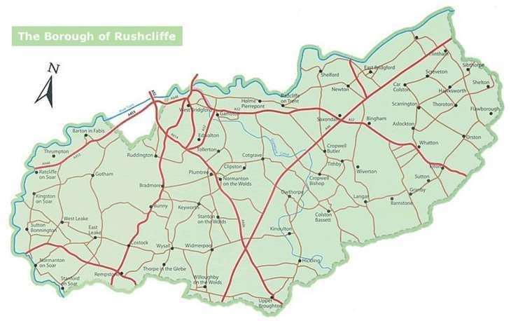 Rushcliffe map (42884465)