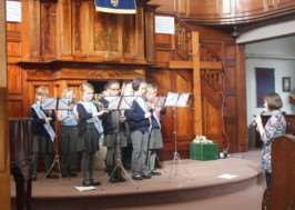 Grantham Music Festival: Huntingtower Primary School last year. EMN-140331-100526001