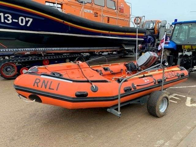 Robert Holland Funeral Directors have donated a lifeboat to RNLI Skegness and the wider RNLI. (22503079)