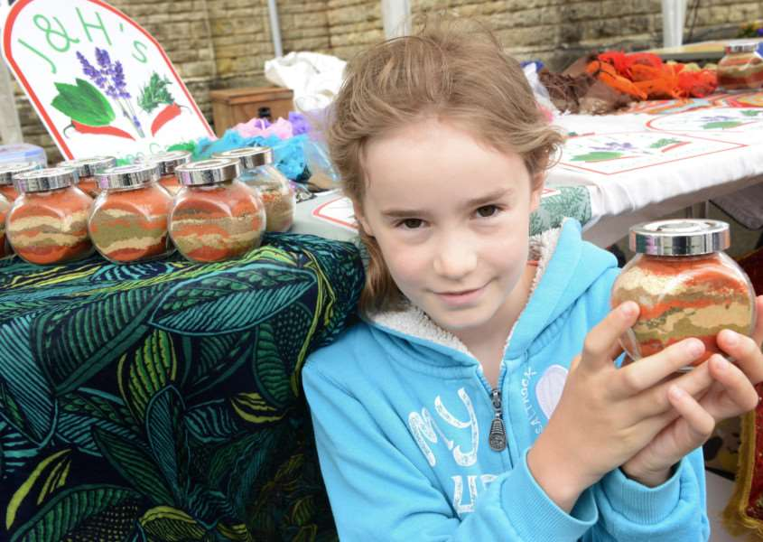 Buckminster summer fete: Maia Joint