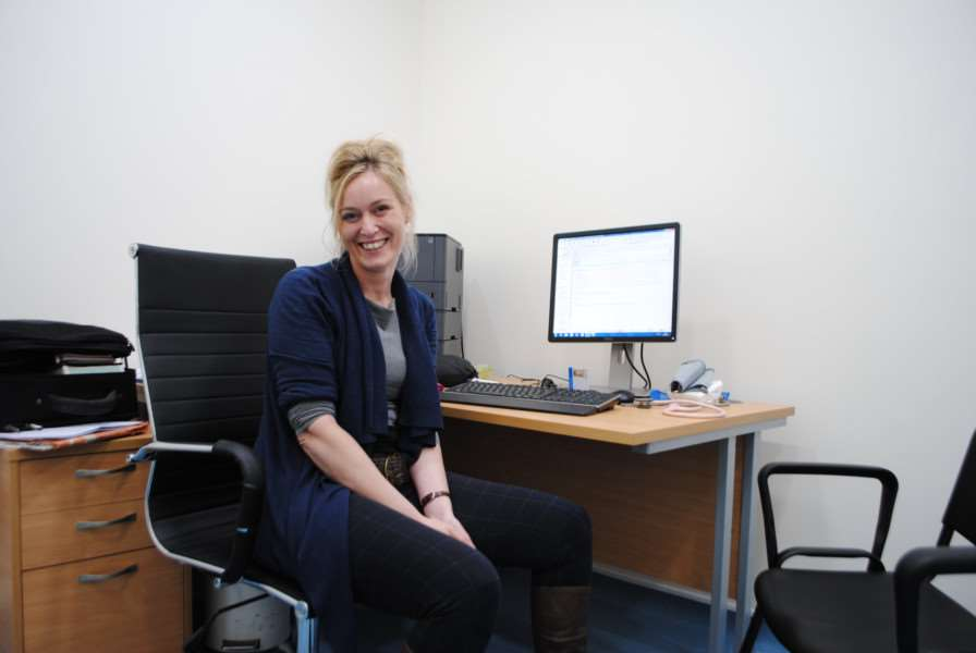 Nurse practitioner Caroline Lee joined the Vine House Surgery in August.
