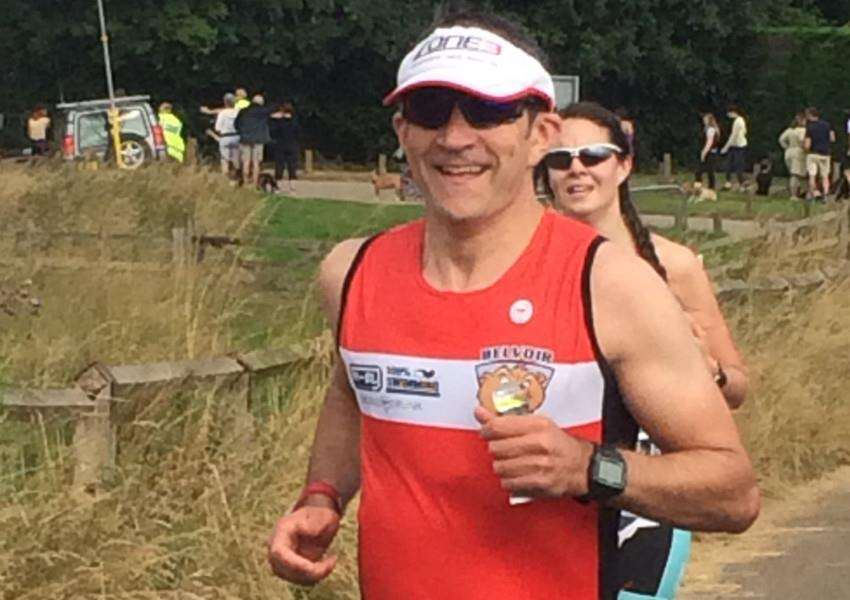 Chris Pugh at Pitsford Standard Distance Triathlon.