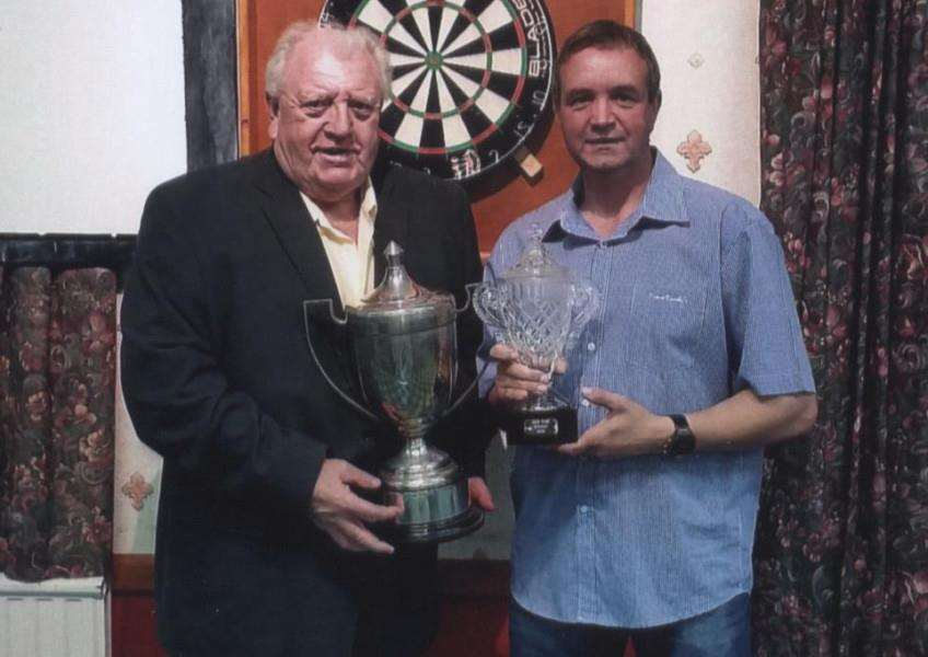 Jeff Wise Open winner Mick Taylor.