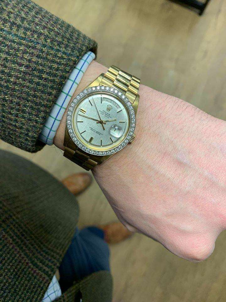 Police are investigating the theft of a Rolex watch from MD Jewellers in Grantham. (6972256)