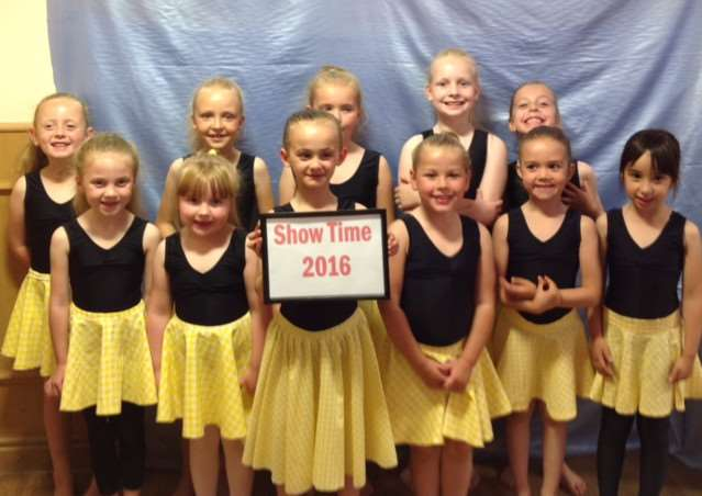 Grantham School of Dancing annual show