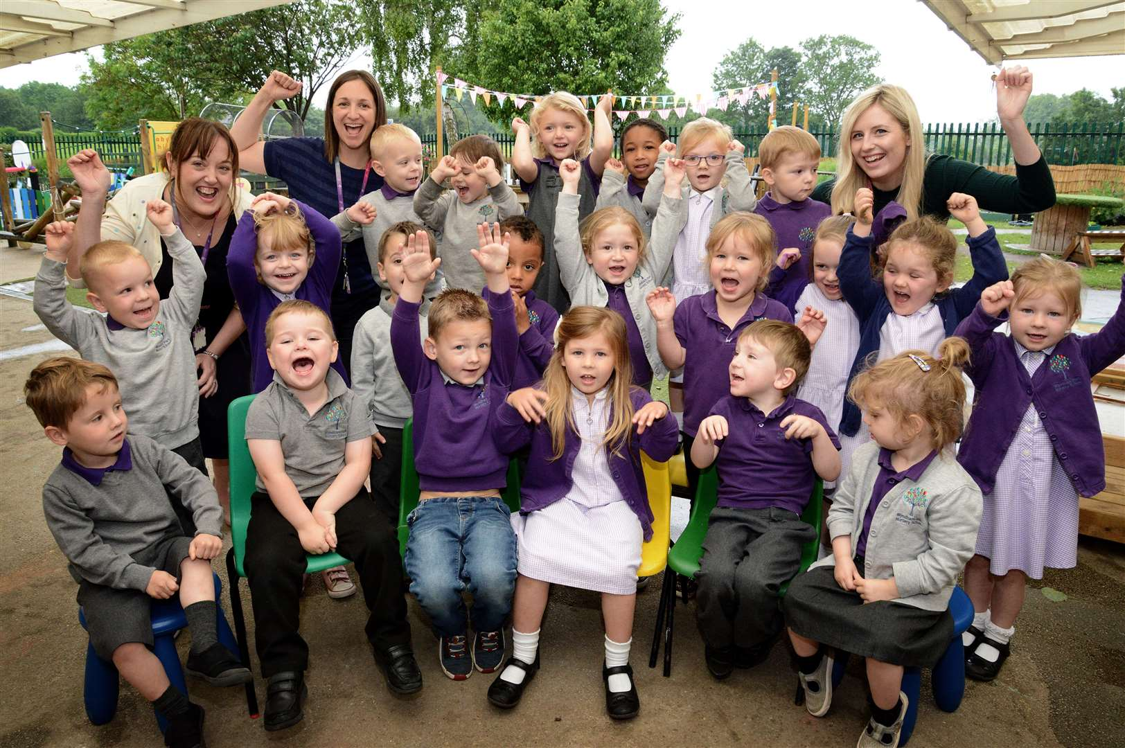 Top marks for Wyndham Park nursery school. (12078539)