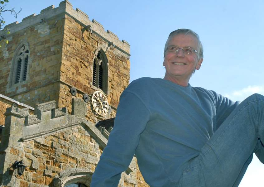 John Adcock (65), ringing master at St Remigius Church at Long Clawson, who spent a week alone in the church bell tower to raise funds for Age UK Leicester Shire and Rutland as well as highlighting the loneliness suffered by many elderly people EMN-150619-152236001