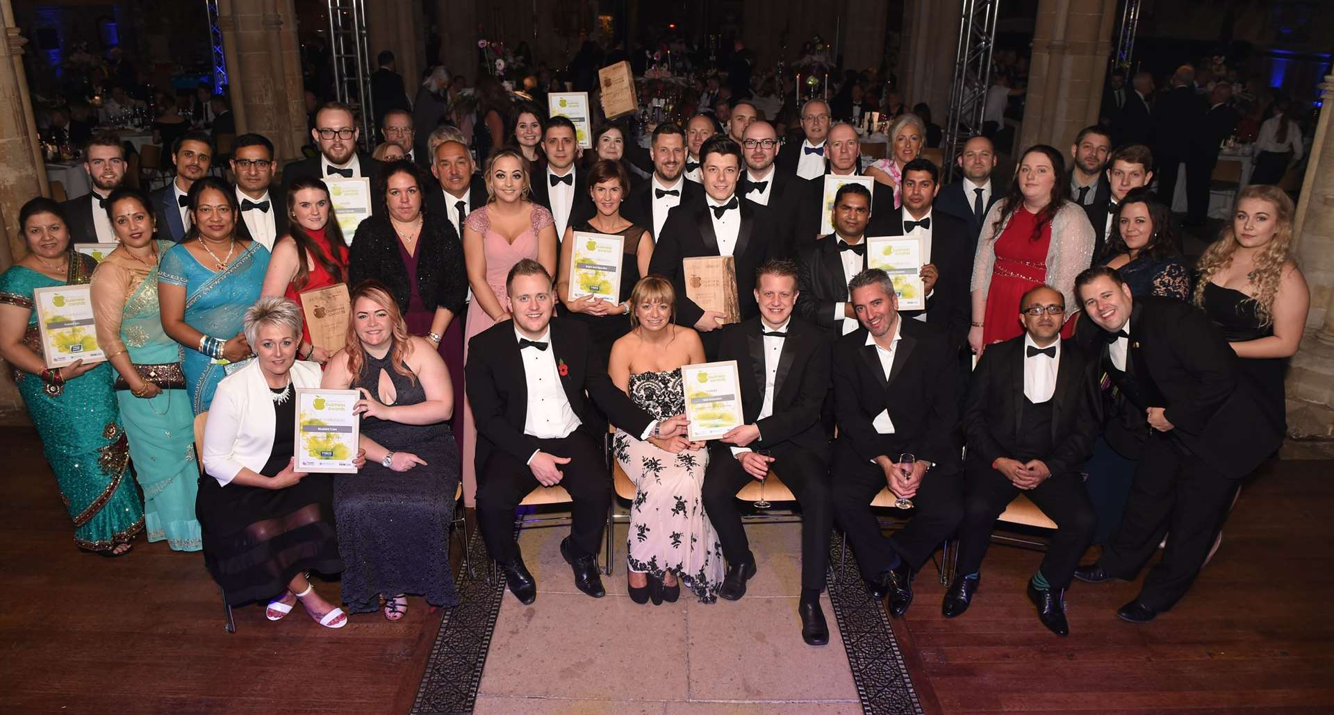 Grantham Journal Business Awards winners in 2017. (5098404)