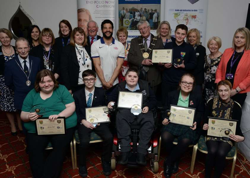 The six remarkable youngsters received their awards at a ceremony on Wednesday.