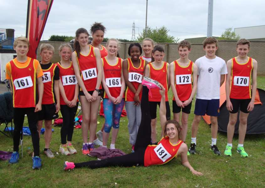 Grantham Athletic Club members