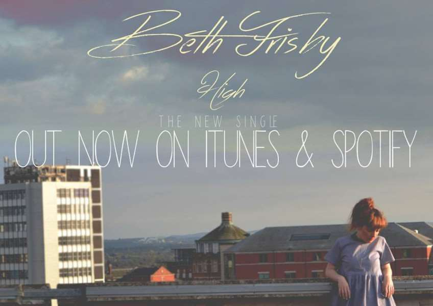 Artwork for Beth Frisby's new single 'High'.