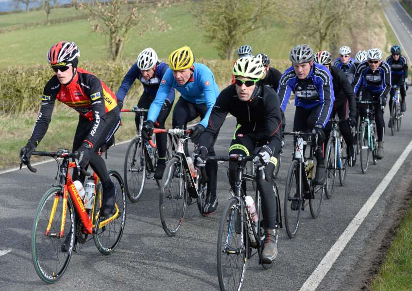 Witham Wheelers reliability ride. Photo: Alan East