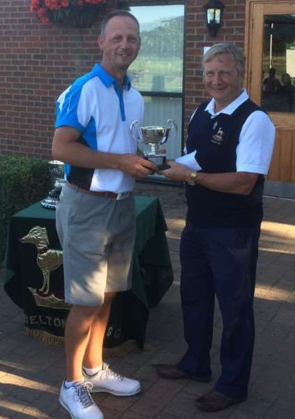 Belton Park men's net champion Michael Green.