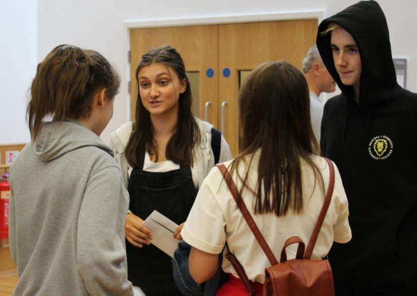 GCSE results day: Priory Ruskin Academy