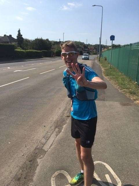 Chris Limmer ran a whopping four marathons in four days, all of which took less than four hours (34147687)