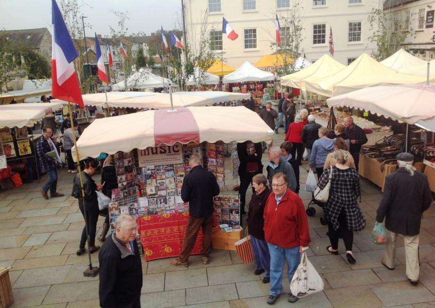 French Market returns to Grantham in October.