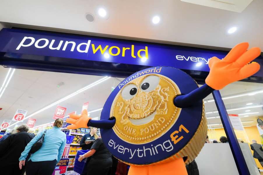 Come and see Grantham's Poundworld store open next week.