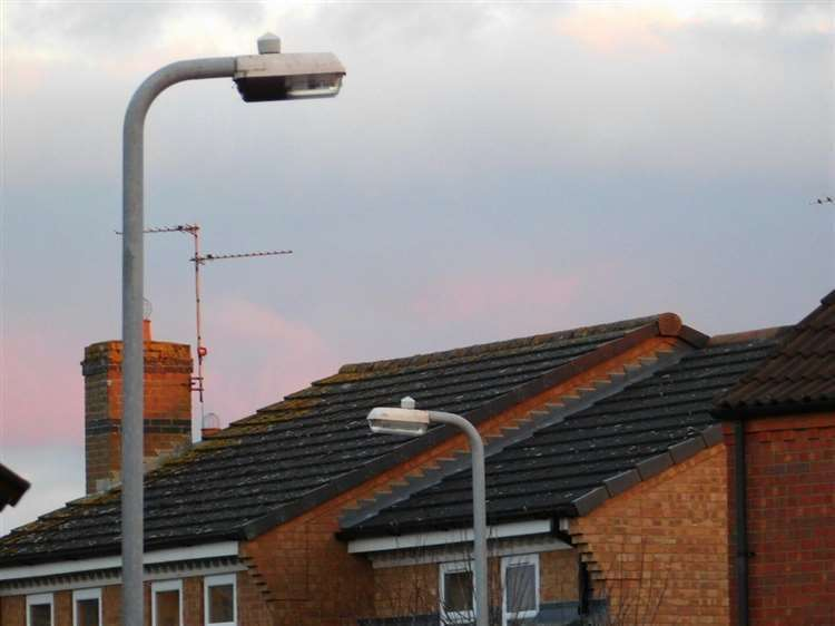 There has been a call for street lights in Grantham to be switched back on at night. (43216769)