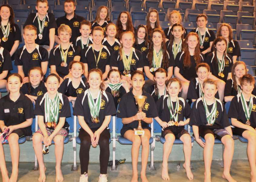 Golden times for Grantham swimmers.