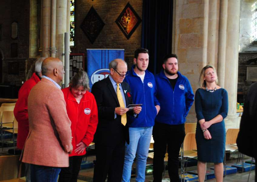 BBC show Bargain Hunt was filmed in St Wulfram's Church in Grantham this week.