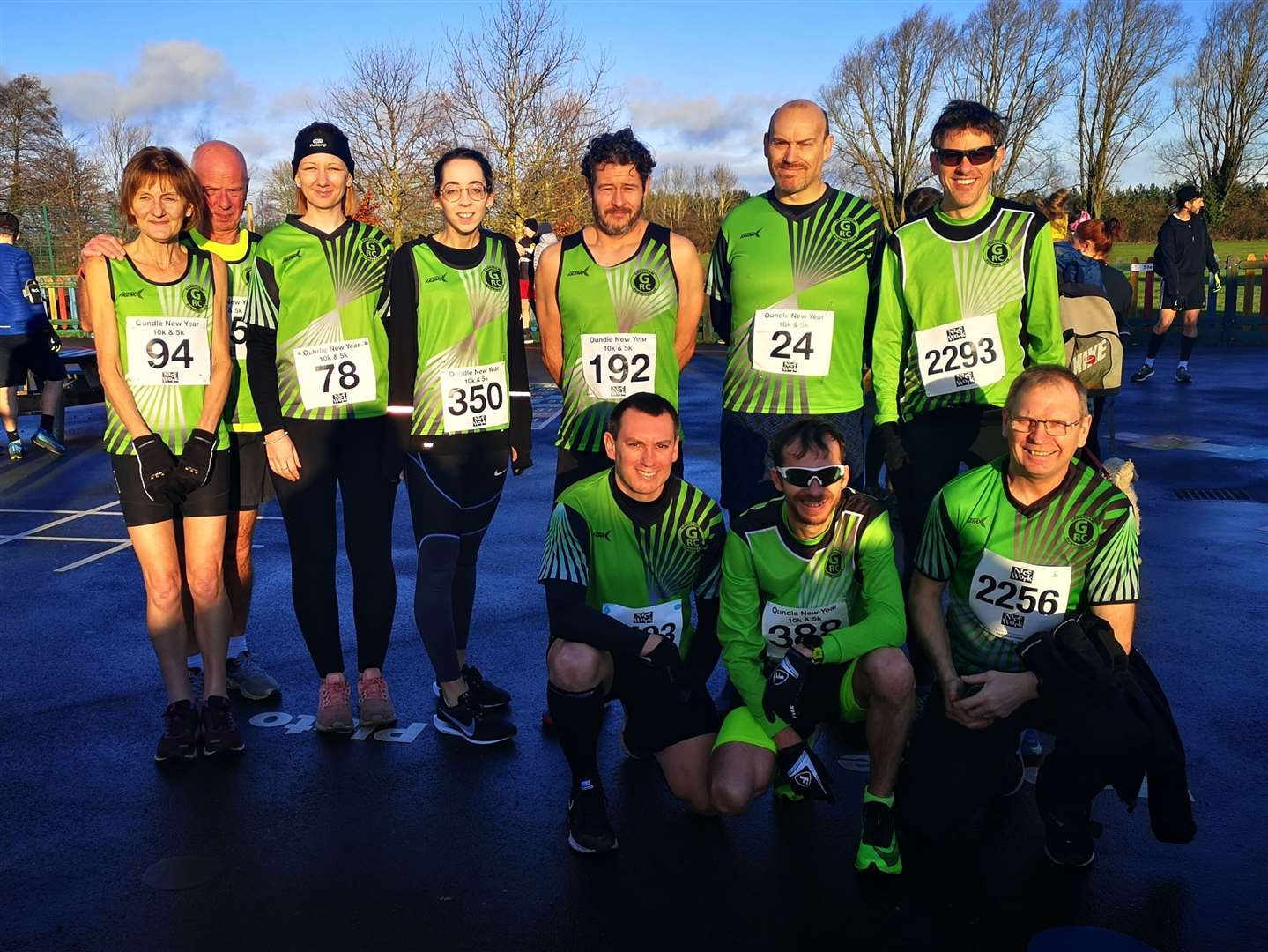 Members of Grantham Running Club at the Oundle 10K. (27332174)