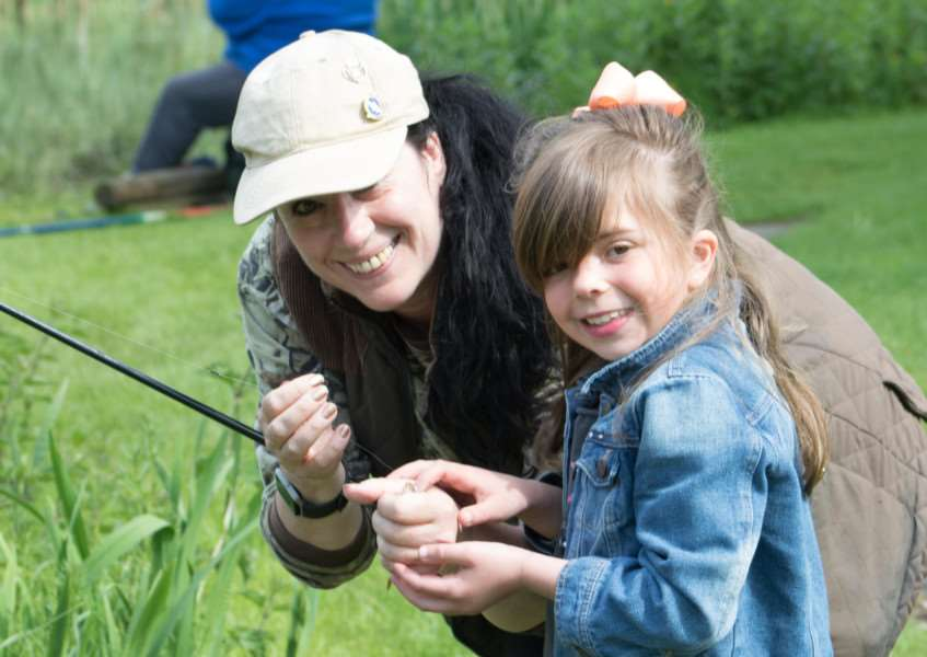 Fishing taster day, organnised by the Grantham Angling Association. Photo: Three Lanterns Photography