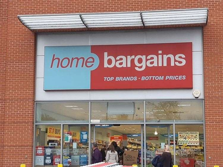 Home Bargains opened in Grantham in 2005. (11070932)
