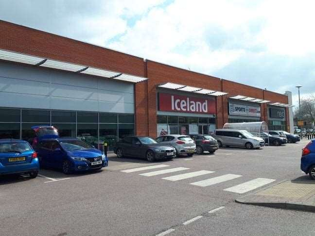 The Iceland store, Grantham (8392379)