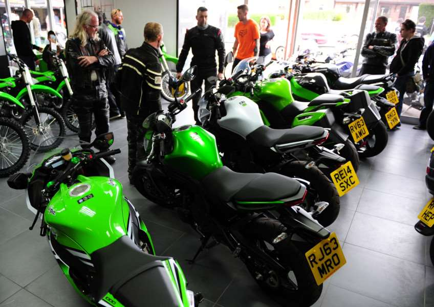 Wide range of Kawasaki bikes in-store.