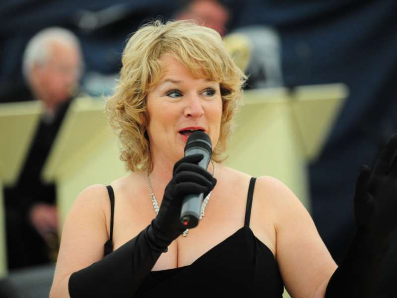 Helen Speed with the Grantham Rhythm and Blues Orchestra at Big Band Night. TRP-19-6-2015-371A (9