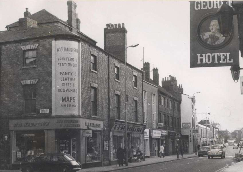 Memory Lane: Do you remember when Harrison's was on the corner of Finkin Street?