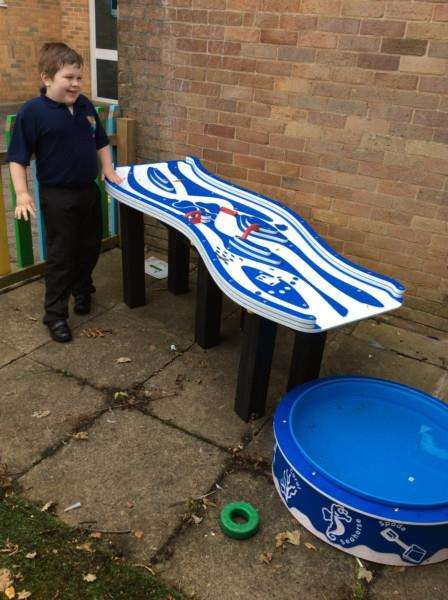 New sensory equipment has been installed at Sandon School after it received nearly �10,000 of Lottery money.