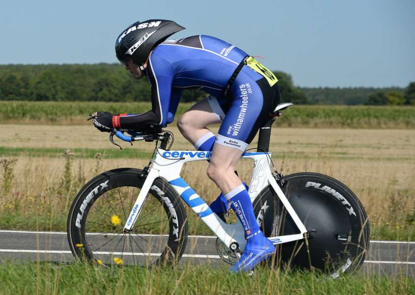 Witham Wheeler James Westwood recorded a personal best 56min 48sec in the VTTA 25.