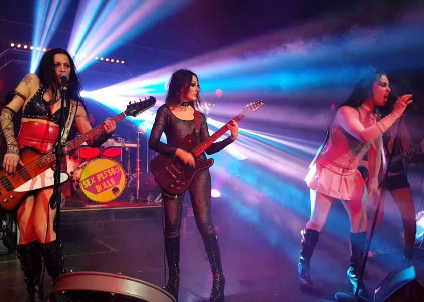 All-girl rock group Sex P*ssed Dolls will be playing this year's Knipfest at Woodnook.