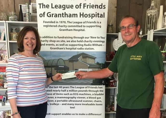 League of Friends of Grantham Hospital raised �455.