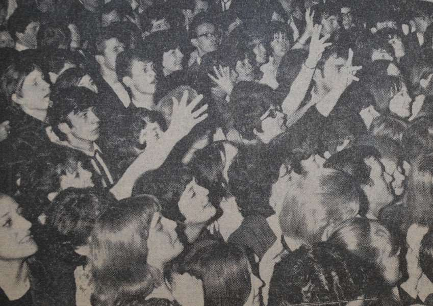 Memory Lane: The Journal reported that there was 'fandemonium' when American group The Walker Brothers came to play in Grantham in 1965.
