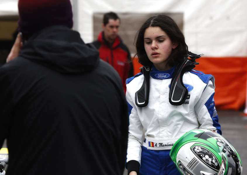 Richardson Racing's new protege Alexandra Marinescu.