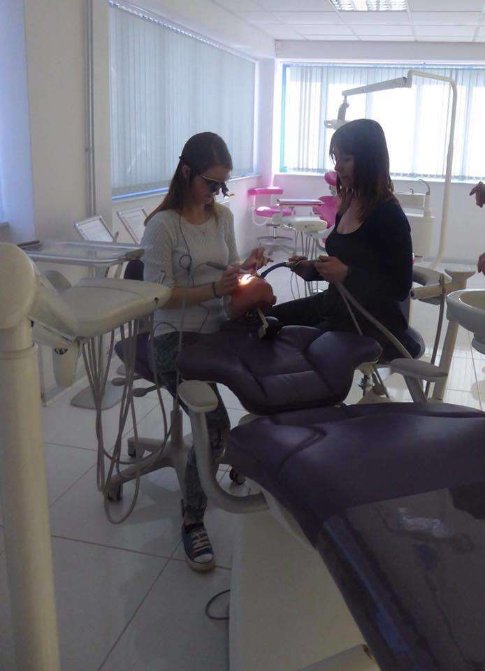 Associate general dental practitioner Claire Simpson and dental nurse Claire Humphries (2248976)