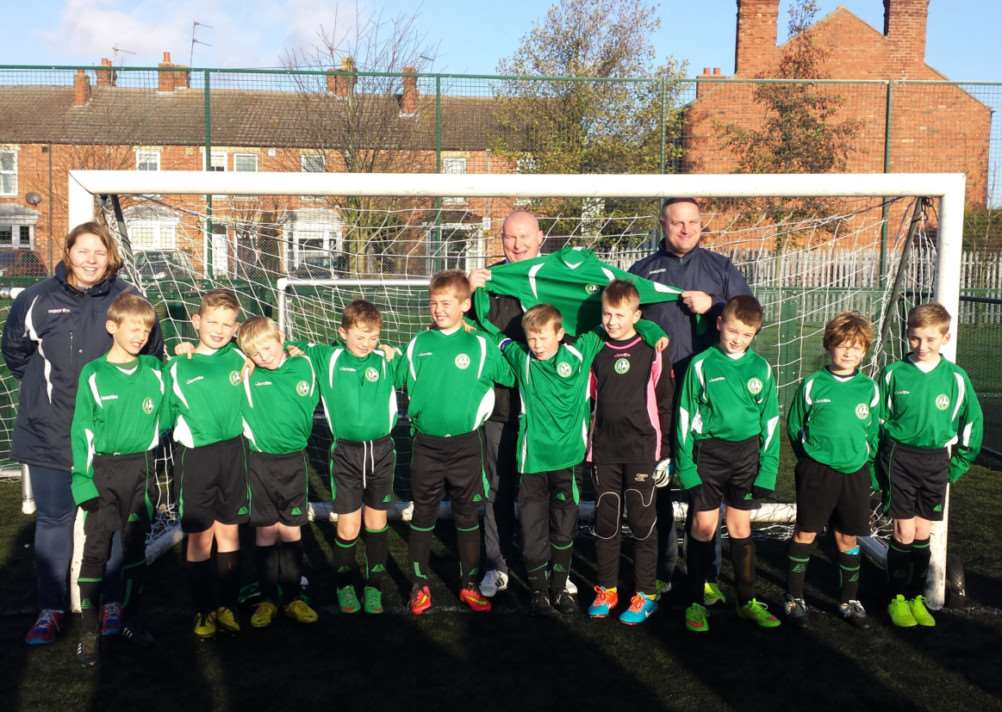 Barrowby Ravens under-9s